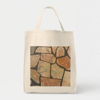 Decorative Stone Paving Look Tote Bag