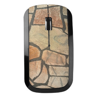 Decorative Stone Paving Look Wireless Mouse
