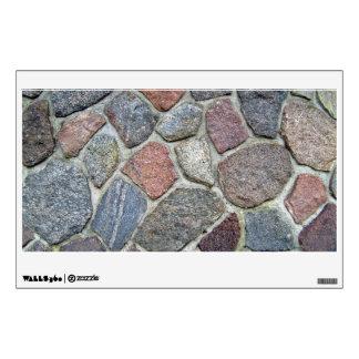 Decorative Stone Wall Background Texture Wall Sticker