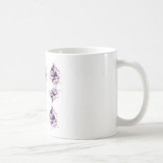 Decorative stones coffee mug