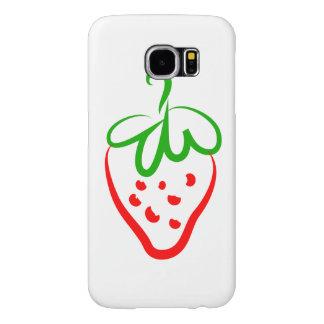 Decorative Strawberry Samsung Galaxy S6 Case