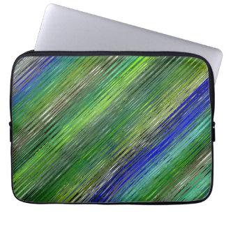 Decorative Stripes Mosaic Pattern #2 Computer Sleeve