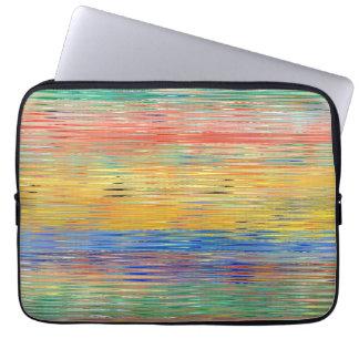Decorative Stripes Mosaic Pattern #5 Laptop Sleeve