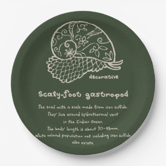 < Decorative sukerihutsuto (beige) > Decorative Paper Plate