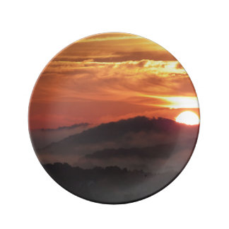 Decorative Sunrise Plate