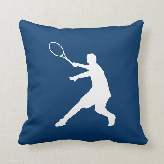 Decorative tennis pillow for club house or home