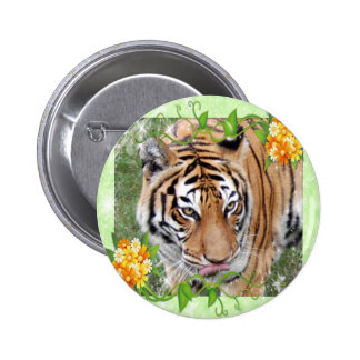 Decorative Tiger Buttons