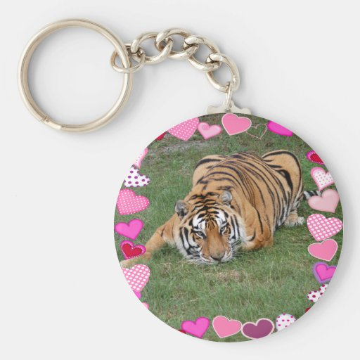 Decorative Tiger Key Chains