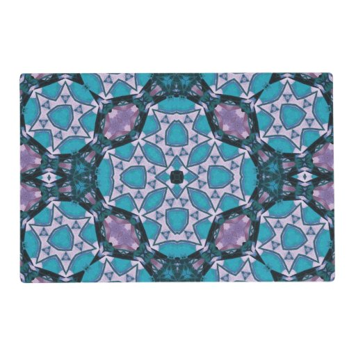 Decorative Trendy Pattern Laminated Placemat Zazzle