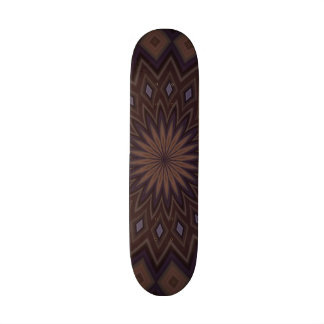 Decorative trendy pattern skate board deck