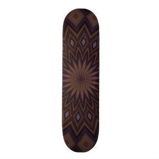Decorative trendy pattern skate board