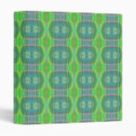 decorative trendy pattern vinyl binder