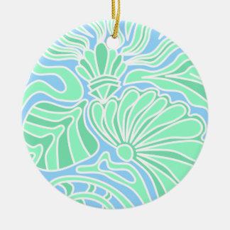 Decorative Underwater Themed Design. Ornaments