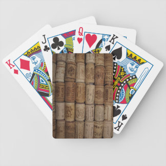 Decorative Wine Cork Collection Bicycle Playing Cards