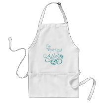 Decorative Word Allergy2 Adult Apron