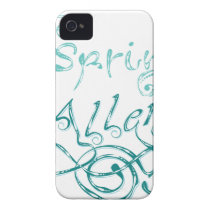 Decorative Word Allergy2 Case-Mate iPhone 4 Case