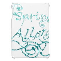 Decorative Word Allergy2 iPad Mini Cases