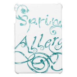 Decorative Word Allergy2 iPad Mini Cases