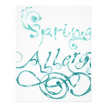 Decorative Word Allergy2 Letterhead