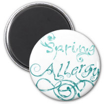 Decorative Word Allergy2 Magnet