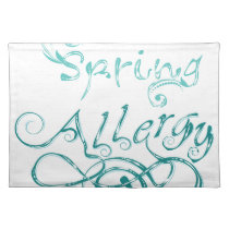 Decorative Word Allergy2 Placemat
