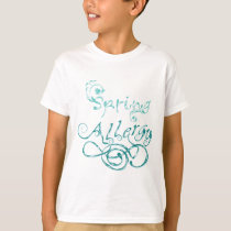 Decorative Word Allergy2 T-Shirt