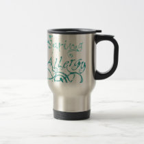 Decorative Word Allergy2 Travel Mug