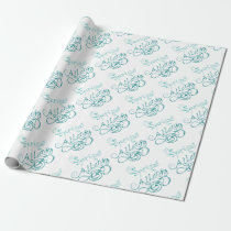 Decorative Word Allergy2 Wrapping Paper