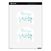 Decorative Word Allergy2 Xbox 360 Controller Skin