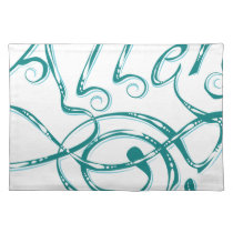 Decorative Word Allergy Placemat