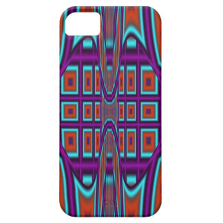 Decorativo, abstracto, caja de la casamata del mod iPhone SE/5/5s case