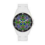 Decorativo colorido reloj