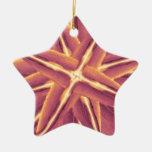 Decorativo floral de Digitaces Adorno De Navidad