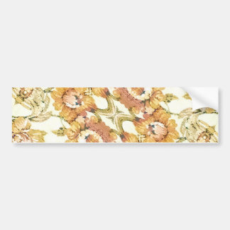 Decorativo floral pegatina para auto