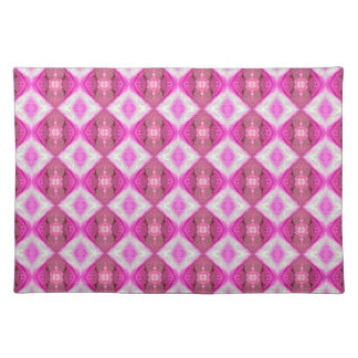 Decorativo rosado manteles individuales