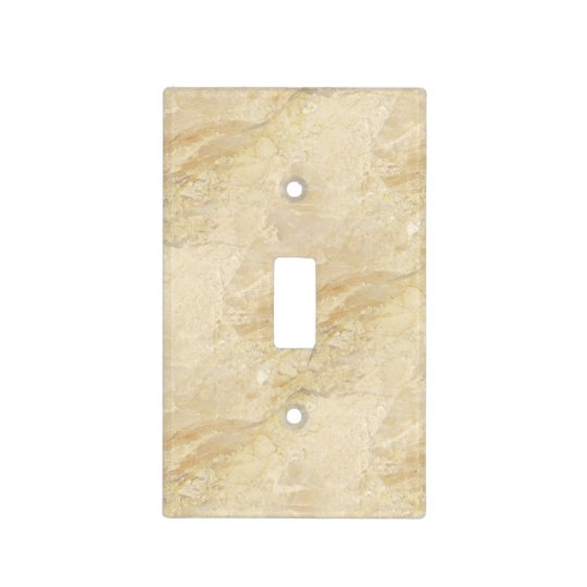 Decorator Beige Granite Stone Look Light Switch Cover