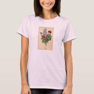 Decorator Botanical Print - Rose,Lupin & Carnation T-Shirt