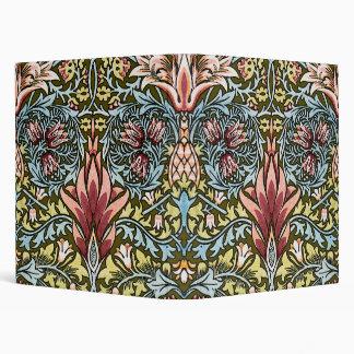 Decorator Floral Wallpaper Pattern Vintage Chic Binder