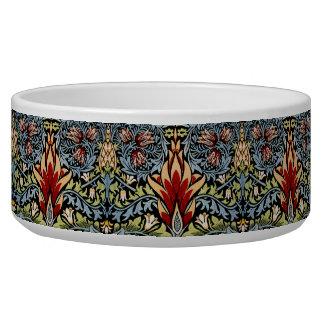 Decorator Floral Wallpaper Pattern Vintage Chic Bowl
