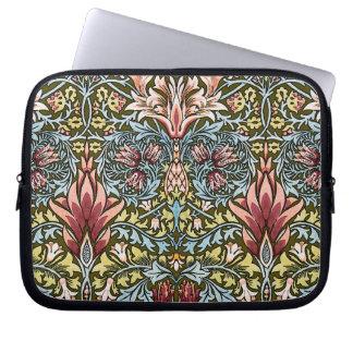 Decorator Floral Wallpaper Pattern Vintage Chic Laptop Sleeve