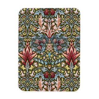 Decorator Floral Wallpaper Pattern Vintage Chic Rectangular Photo Magnet