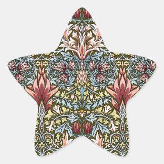 Decorator Floral Wallpaper Pattern Vintage Chic Star Sticker