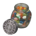 Decorator Lace Design Jelly Belly Candy Jar