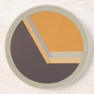 DecoSphere coaster (tangerine)