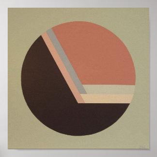 """DecoSphere print (10""""x 10"""" mauve)"""