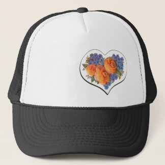 Decoupage Love Heart-1 Trucker Hat