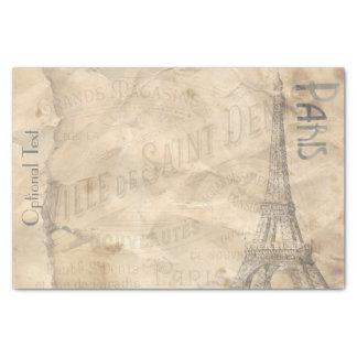 Decoupage Paper Paris Collage