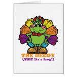decoy turkey frog cards