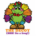 decoy turkey frog photo cutouts