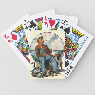 Decoys Poker Deck
